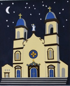 Our Lady of Good Voyage, Original Print by Jane Keddy